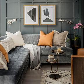 Pillows at Robin Gannon Interiors