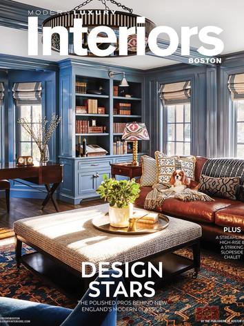 Modern Luxury Interiors Boston - Winter 2020