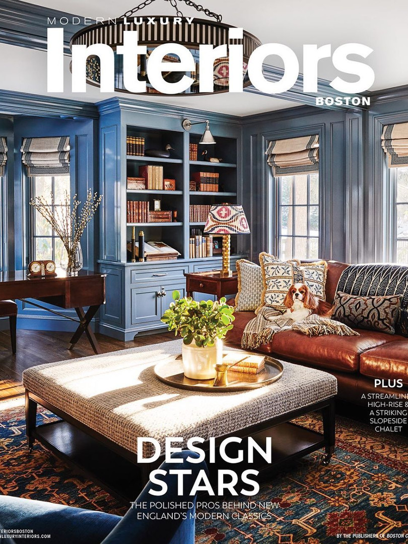 Modern Luxury Interiors Boston - Winter 2020