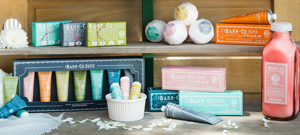 We carry a wide array of Barr-Co.'s amazing products - ALL perfect for self-care!