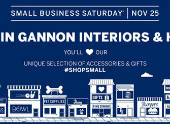 #shopsmall with us on Small Business Saturday!