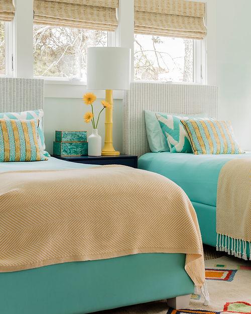 Cape Cod modern bedroom designed by Robin G