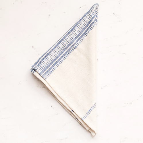 "Creative Women ""Aden"" Napkin - Blue"