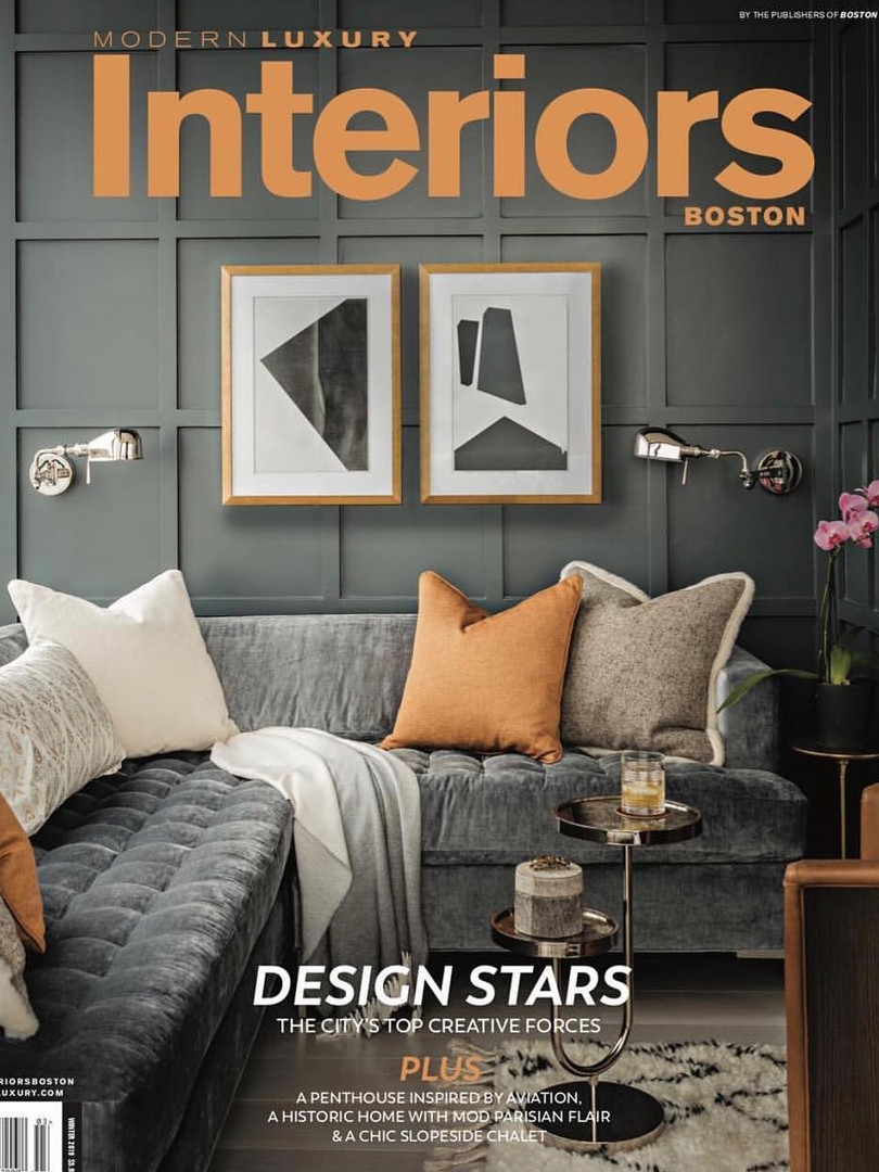 Modern Luxury Interiors Boston - Winter 2019