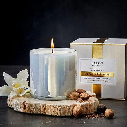 LAFCO White Maple Bourbon Candle