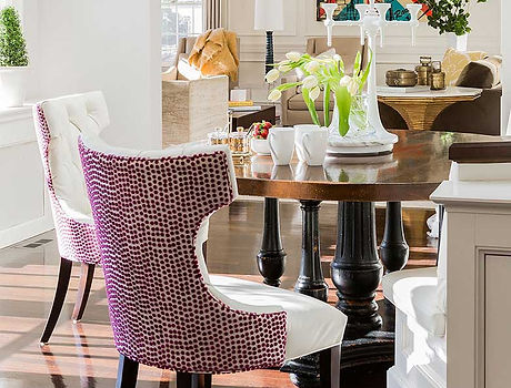 Modern living room designed by Robin Gannon Interiors