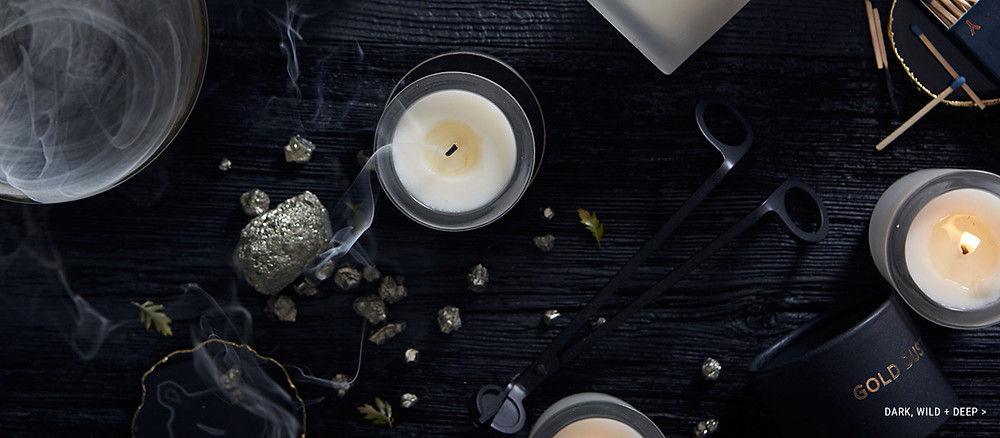 Dark, Wild + Deep Collection of Tatine Candles - Bring the Outside Indoors at Robin Gannon Interiors & Home!