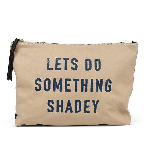 "Kempton & Co. ""Let's Do Something Shadey"" Medium Pouch"
