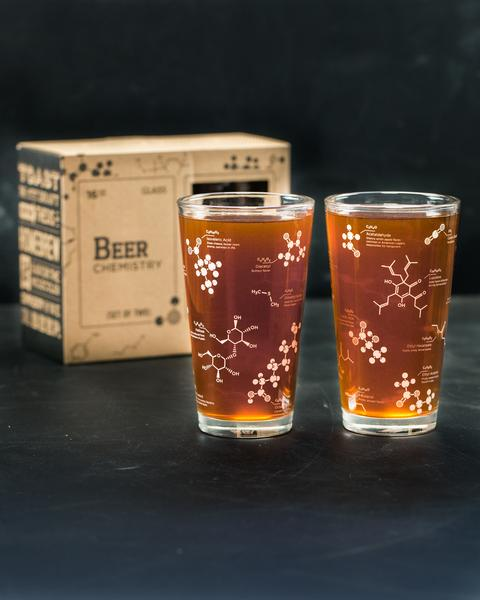 Science of Beer Chemistry Glass Set