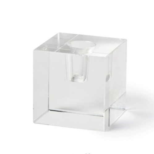 Creative Candles Crystal Cube Candle Holder