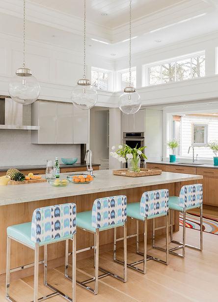 Cape Cod modern kitchen designed by Robin G