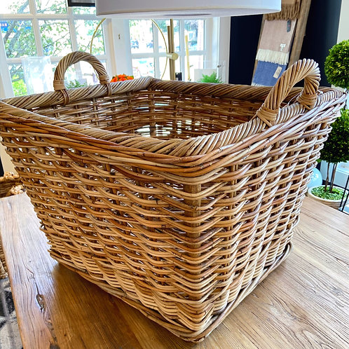 Mainly Baskets Large French Country Hearth Basket