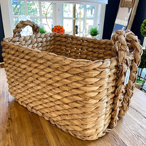 "Made Goods Large Rectangular ""Raquel"" Woven Basket"