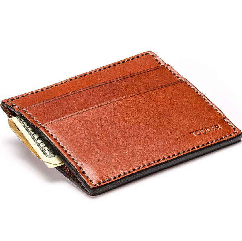 Todder Saddle-Stitch Leather Wallet