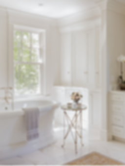 Master bathroom designed by Robin Gannon Interiors