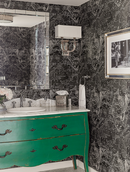 This Old House bathroom designed by Robin Gannon Interiors