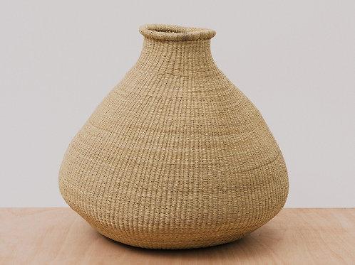 Kazi Large Natural Grass Bud Vase