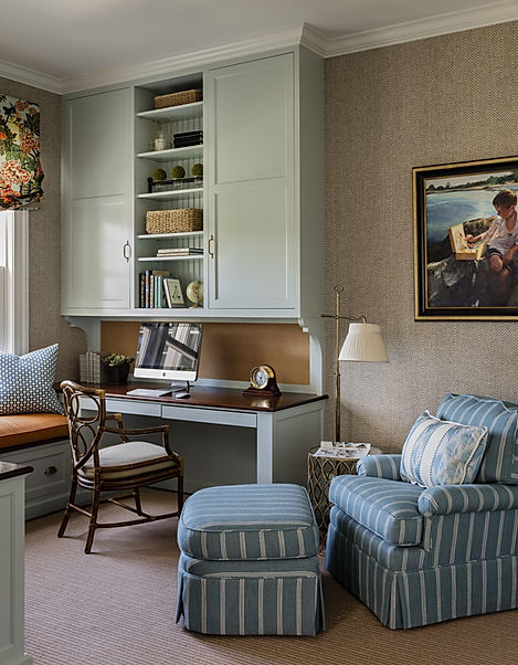 Study designed by Robin Gannon Interiors