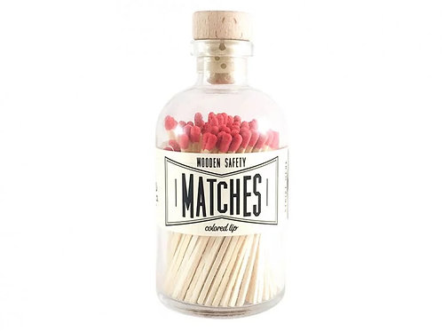 Made Market Co. Vintage Apothecary Matches - Red