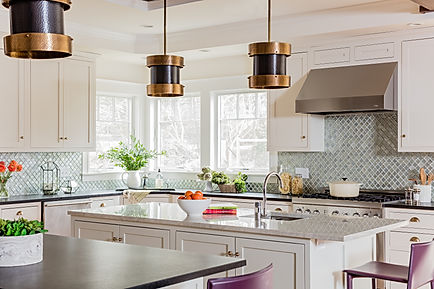 Kitchen designed by Robin Gannon Interiors
