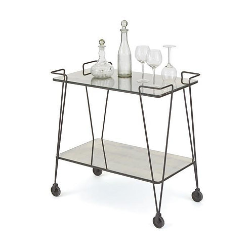"Go Home ""Tremont"" Bar Cart"
