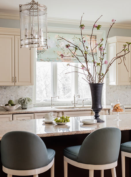 Kitchen designed by Robin Gannon Interiors