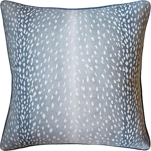 "Ryan Studio aqua ""Doe"" pillow"
