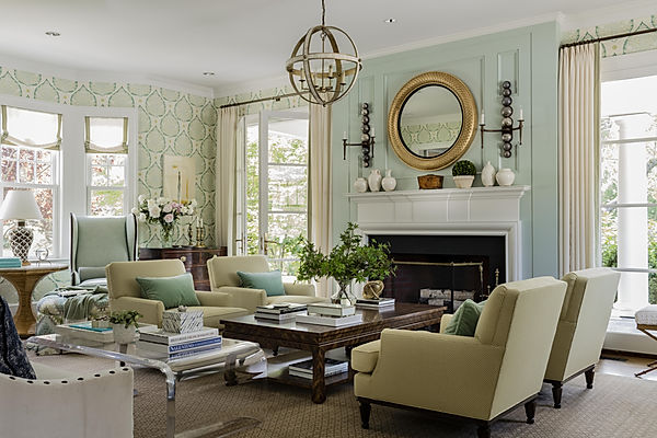 Living room designed by Robin Gannon Int