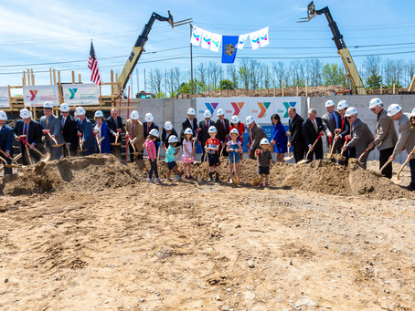 Groundbreaking at the YMCA's Regional Campus for Healthy Living