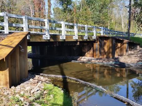 Wayne County's Macedon Center Road Bridge wins APWA Project of the Year Award