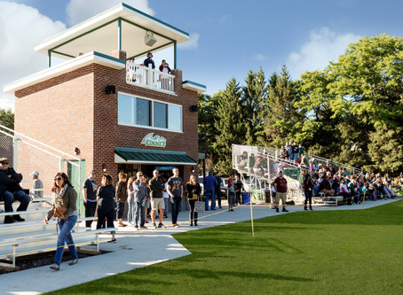 The Charles Finney School's New Press Box Finishes Its First Season