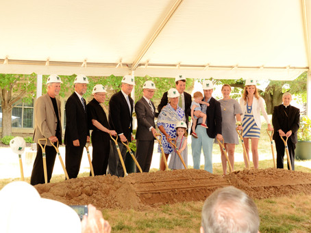 Groundbreaking Ceremony for St. John Fisher College's Hermance Family Chapel