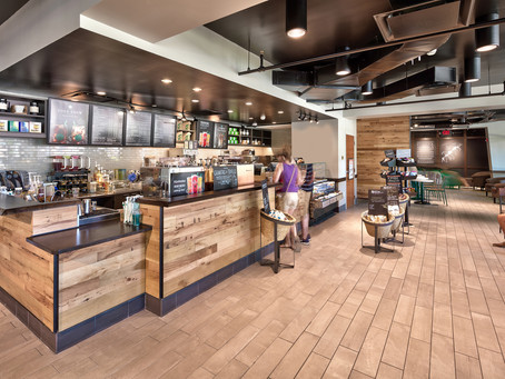 SUNY Fredonia's Starbucks Gets a Back-to-school Makeover