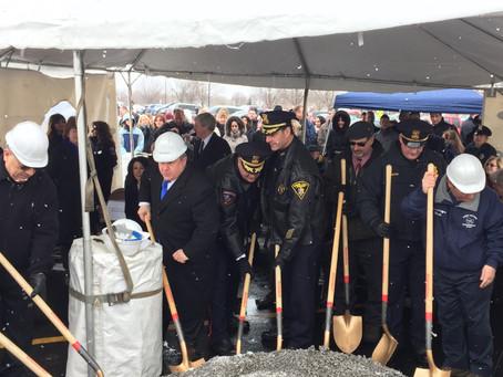 Groundbreaking Ceremony for New Greece Police Headquarters