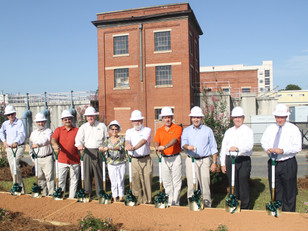 Groundbreaking at the Gastonia Water Treatment Plant