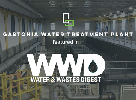 Gastonia Water Treatment Plant's Membrane Technology Featured in Water & Wastes Digest