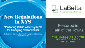 LaBella Published in the NY Association of Towns Magazine on Emerging Contaminants