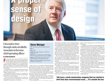LaBella COO Steve Metzger Featured In the Rochester Business Journal