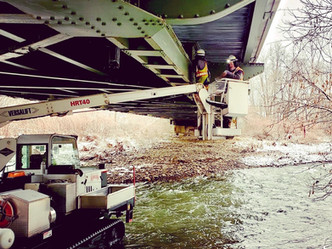 Chemung County Bridge Rehab Starts with Inspection Gadget