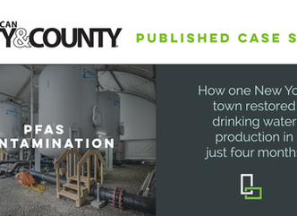 LaBella's PFAS Experience Featured in American City & County