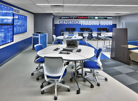 SUNY Geneseo's Trading Room Provides Real-Time Data and Dynamic Learning Environment