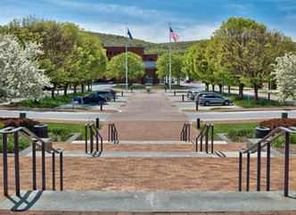 Improved Safety and Circulation for Corning's Riverfront Plaza