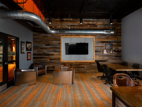 A Branded Office Environment for Hirschfeld Marketing Solutions