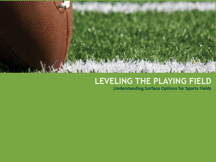 Leveling the Playing Field: Tools For Our Clients Choosing Sports Surfaces