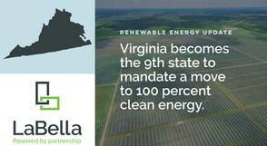 Virginia's New Renewable Energy Legislation Sets Clean Energy Targets