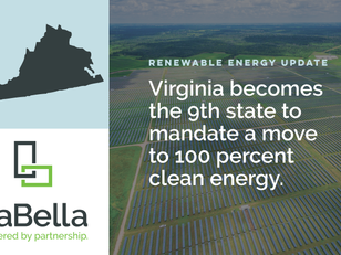 Virginia's New Renewable Energy Legislation Sets Clean Energy Targets