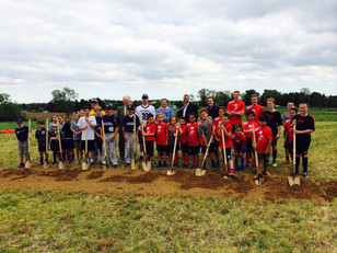 Groundbreaking at Pittsford Parks!