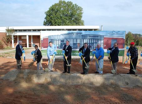 Groundbreaking Ceremony for Western Piedmont Community College's Mechatronics Building