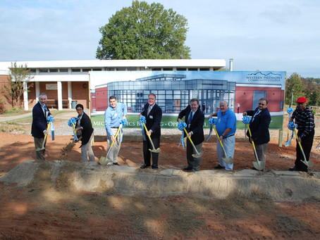 Groundbreaking Ceremony for Western Piedmont Community College's Mechatronics Building
