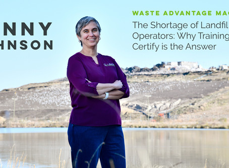 The Importance of Landfill Operator Training: As Featured in Waste Advantage Magazine